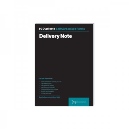Duplicate Delivery Note A5 Note Pad