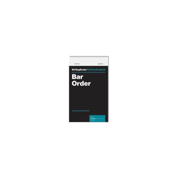 Bar Order Duplicate Pad
