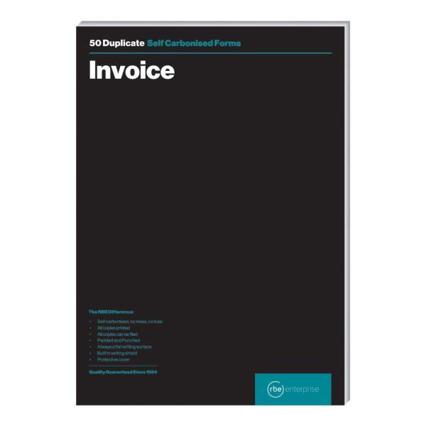 A4 Invoice Duplicate Pads