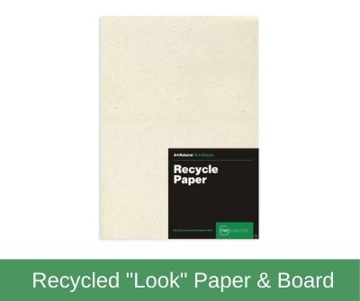 """Recycled """"Look"""" Paper & Board"""