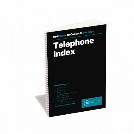 Telephone Index Book - A to Z