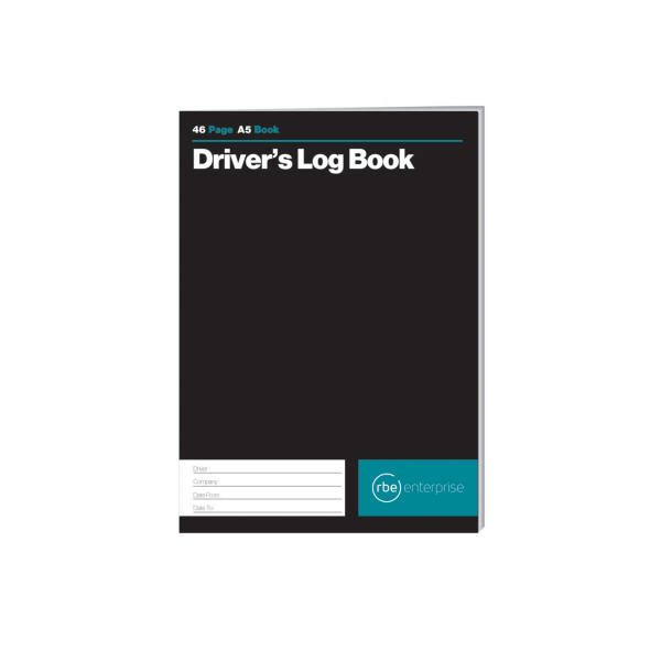 A5 Drivers Log Book