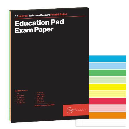 Rainbow Exam Pad