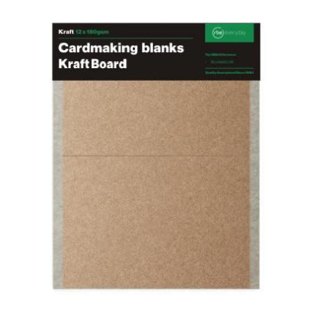 Kraft Card Making Blanks