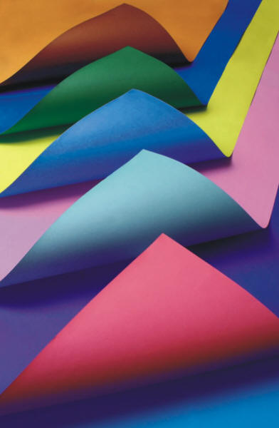 Origami Paper Pad Sample Colours