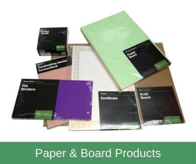 Paper, Board & Envelopes Range