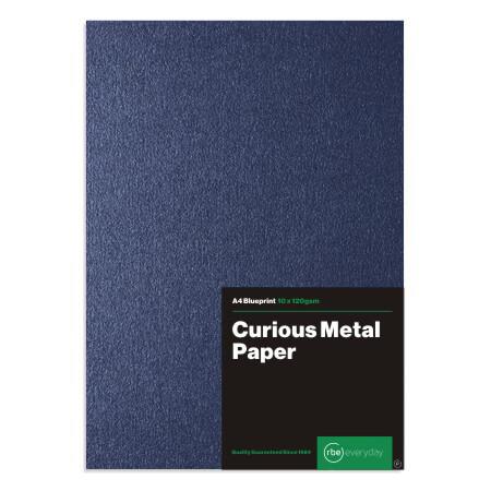 Curious Metal Blueprint Paper