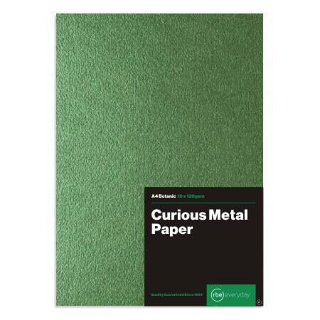 Curious Metal Botanic Paper