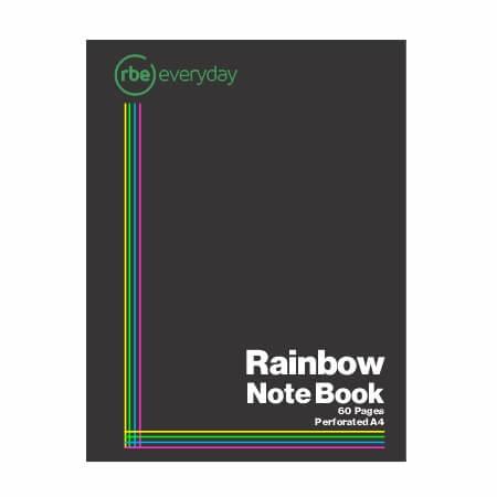 Rainbow Note Book