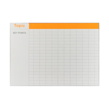 RBE Revision Cards - Orange