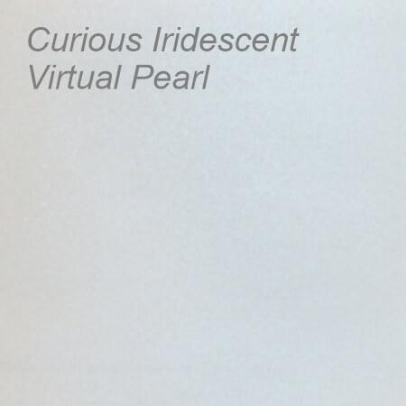 Curious Iridescent Virtual Pearl