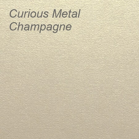 Curious Metal Champagne