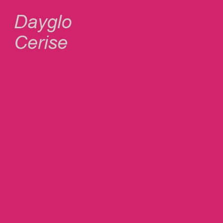 Dayglo Cerise Colour Swatch