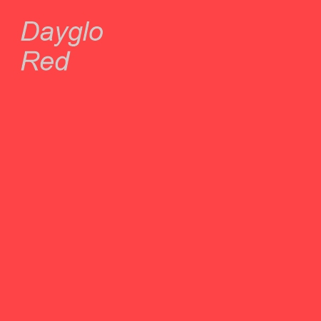 Dayglo Red Colour Swatch