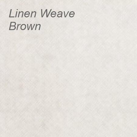 Linen Weave Brown Colour Swatch