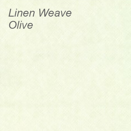 Linen Weave Olive Colour Swatch