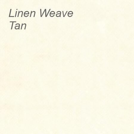 Linen Weave Tan Colour Swatch