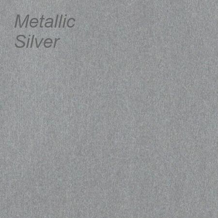 Metallic Silver Colour Swatch