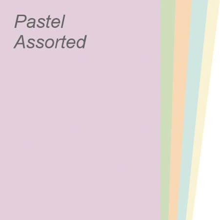 Pastel Assorted Paper & Board Range
