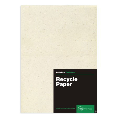 Recycled Natural Paper