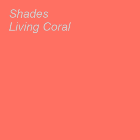Shades Living Coral Colour Swatch