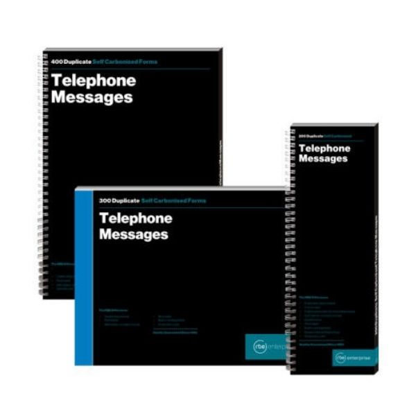 Telephone Message Books