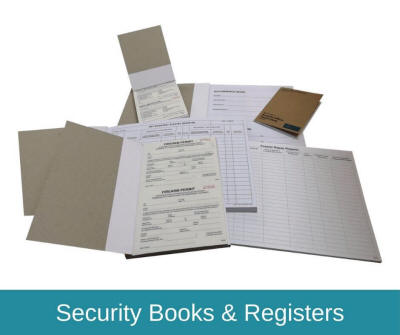 Security Books & Registers