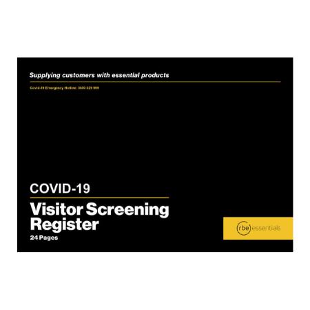 Covid-19 Visitor Screening Register