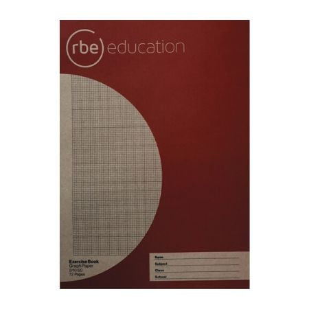 Graph Book 2/10/20 72 Page A4 Exercise Book