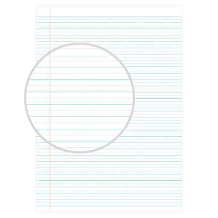 Speckled Guideline Exercise Books Layout