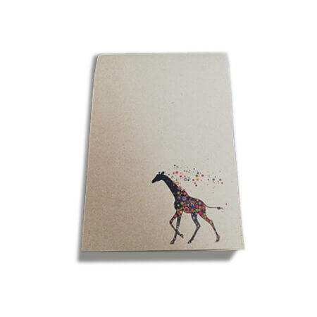 A5 Kraft Lined Notepad - Cover