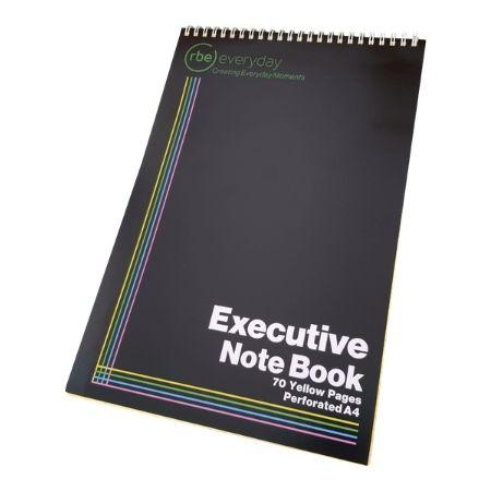 A4 Executive Note Book Spiral Bound