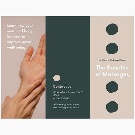 Print Services Tri-Fold Brochures