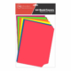 Assorted Dayglo A4 Book Covers