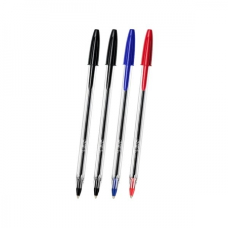 BIC Crystal Xtra Life Pens - Pack of 4