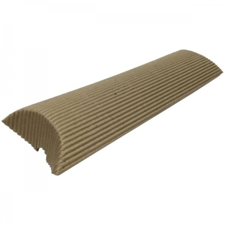 Large Fluted Kraft Pillow Style Gift Box