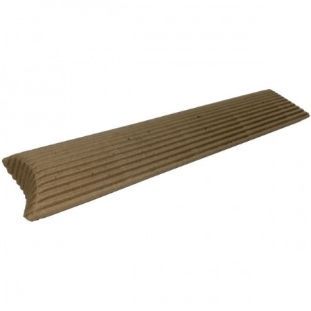Small Fluted Kraft Pillow Style Gift Box