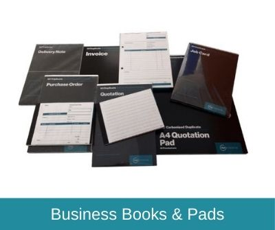 Business Books & Pads Range
