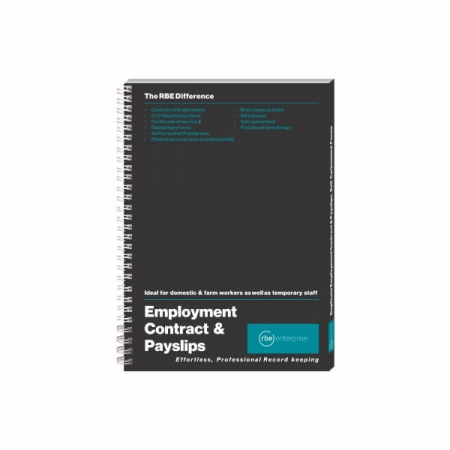 Employment Contract & Payslip Book