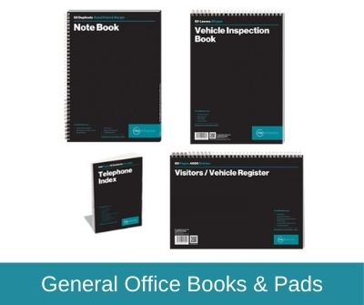 General Office Books & Pads
