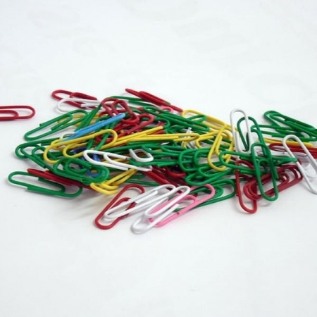 33mm Colourted Paper Clips